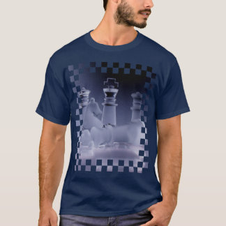 Chess with Fallen and Standing King T-Shirt