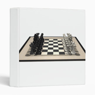 Chessboard and Chess Pieces: Binder