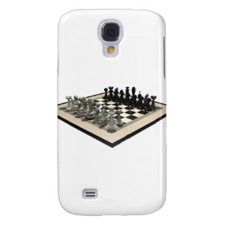 Chessboard and Chess Pieces: Galaxy S4 Cover