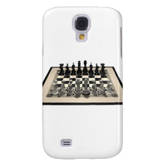 Chessboard and Chess Pieces: Galaxy S4 Cases