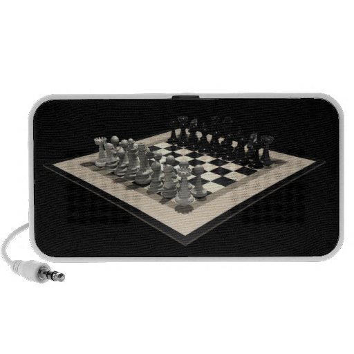 Chessboard and Chess Pieces: Speakers