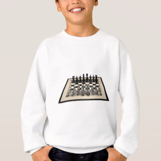 Chessboard and Chess Pieces: Sweatshirt