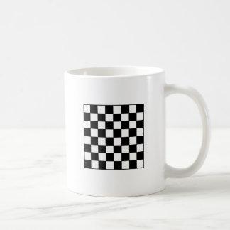 Chessboard B&W The MUSEUM Zazzle Gifts Coffee Mug