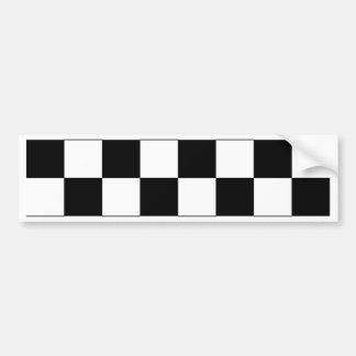 Chessboard Bumper Sticker