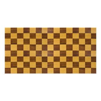 chessboard card