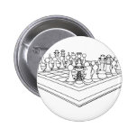 Chessboard & Chess Pieces: Button