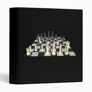 Chessboard & Chess Pieces: Custom Binder
