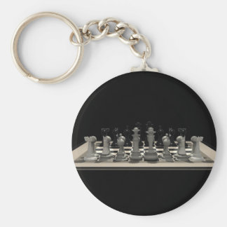 Chessboard & Chess Pieces: Keychain