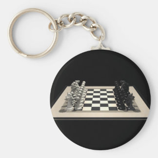 Chessboard & Chess Pieces: Keychains