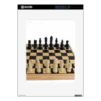 chessboard design iPad skins