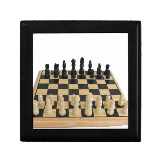 chessboard design keepsake box