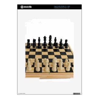 chessboard design skin for the iPad 2