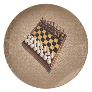Chessboard Dinner Plate