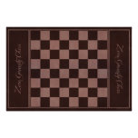 "Chessboard Leather - Zero Gravity Chess (for 3"") Print"