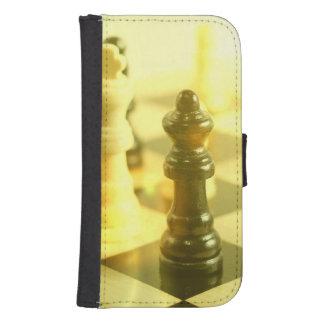 chessboard galaxy s4 wallet