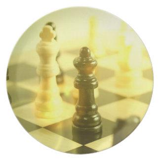 Chessboard Plate