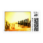 Chessboard Postage Stamp