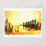Chessboard Postcard