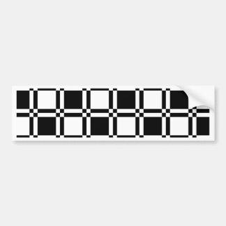 Chessboard sample bumper sticker
