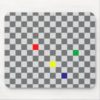 Chessboard sample chess board pattern mouse pad