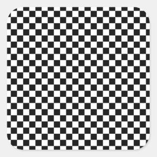 Chessboard sample square sticker