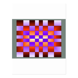 ChessBoard Specturm Colors CricketDiane Post Card