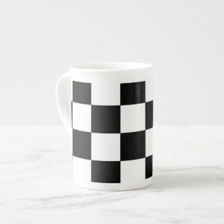 Chessboard Tea Cup