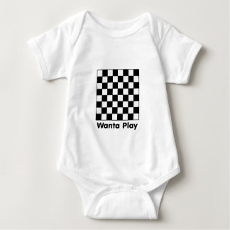 Chessboard Wanta B&W The MUSEUM Zazzle Gifts T-shirt