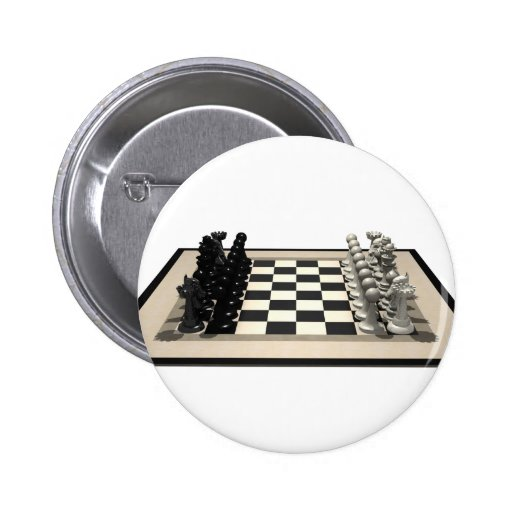 Chessboard with Chess Pieces: Buttons