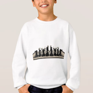 Chessboard with Chess Pieces: Sweatshirt