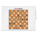 chessdoku tarjeta