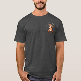 Chessie IAAM Off-Leash Art™ Pocket T-Shirt