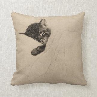 """Chessie """"Sleep like a Kitten"""" Pillow"""