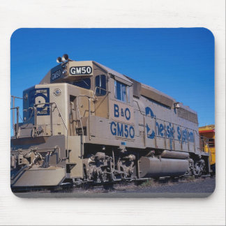 Chessie System/B&O, EMD GP-40 in EMD 50th annivers Mouse Pad