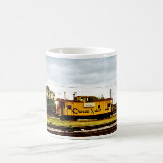 Chessie System Caboose at Toledo, OH 1996 Coffee Mug