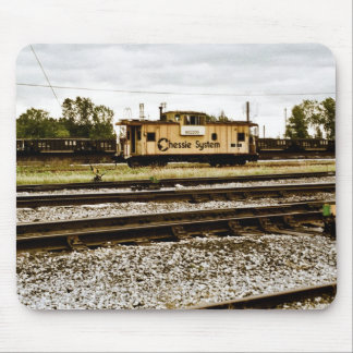 Chessie System Caboose at Toledo, OH 1996 Mouse Pad
