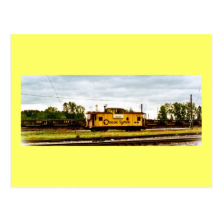 Chessie System Caboose at Toledo, OH 1996 Postcard