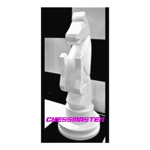 Chessmaster, Knight Chess Piece Photo Card