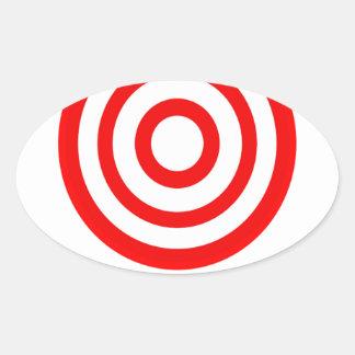 Chest Bump Oval Sticker