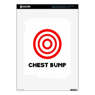 Chest Bump Skins For iPad 3