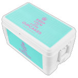[Cupcake] keep calm and love cupcakes  Chest Cooler Igloo Ice Chest