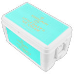 [Cupcake] keepcalm and eat little baby's ice cream  Chest Cooler Igloo Ice Chest