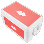 [Two hearts]  Chest Cooler Igloo Ice Chest