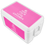 [Crown] keep calm and love ashanda  Chest Cooler Igloo Ice Chest