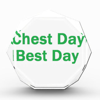 chest day green awards