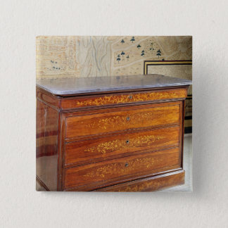 Chest of drawers, Louis-Philippe period Button