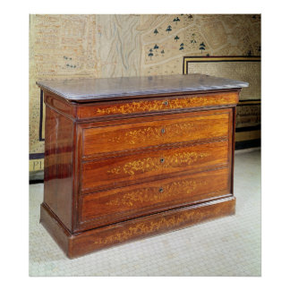 Chest of drawers, Louis-Philippe period Poster