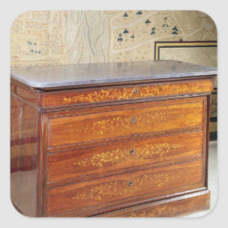 Chest of drawers, Louis-Philippe period Square Sticker