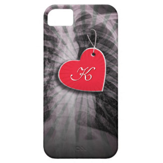 Chest X Ray Film with Heart Shaped Name Tag Cases