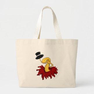 Chestburst Alien Canvas Bags